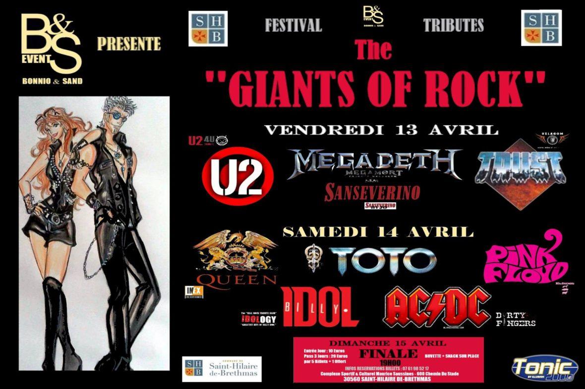 affiche giants of rock